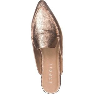 ESpirit Role Gold Pointy Mules